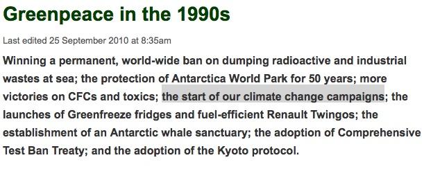Fuente:  Greenpeace